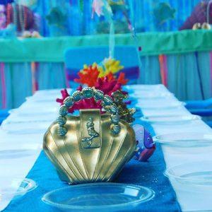 Mermaid Table Setting
