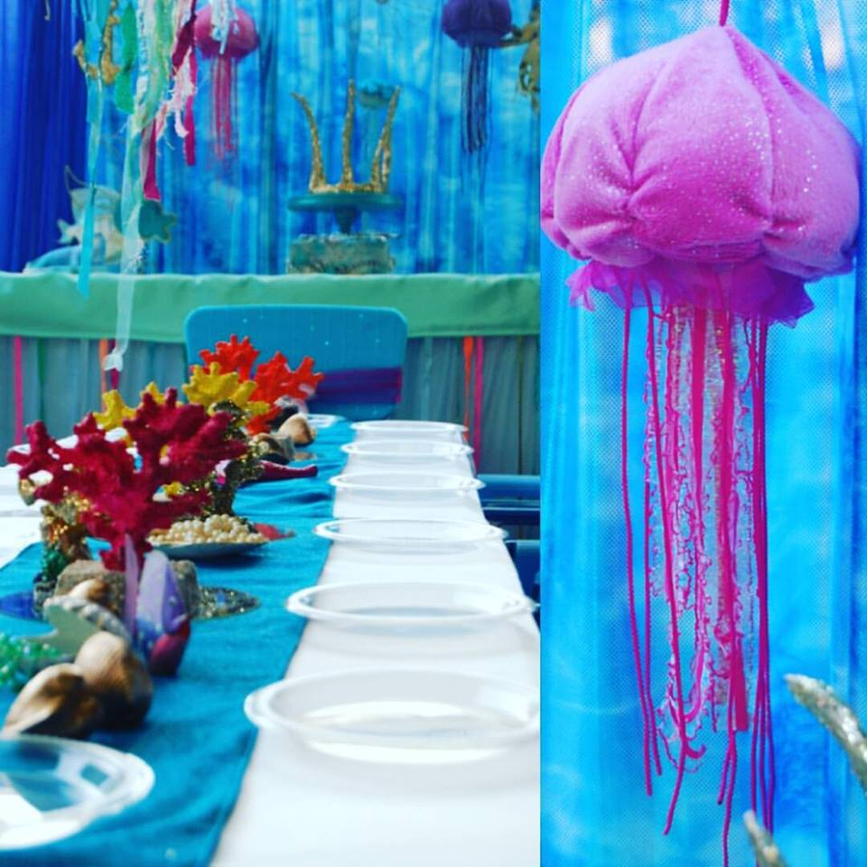 Mermaid Table Setting Wish Upon A Party
