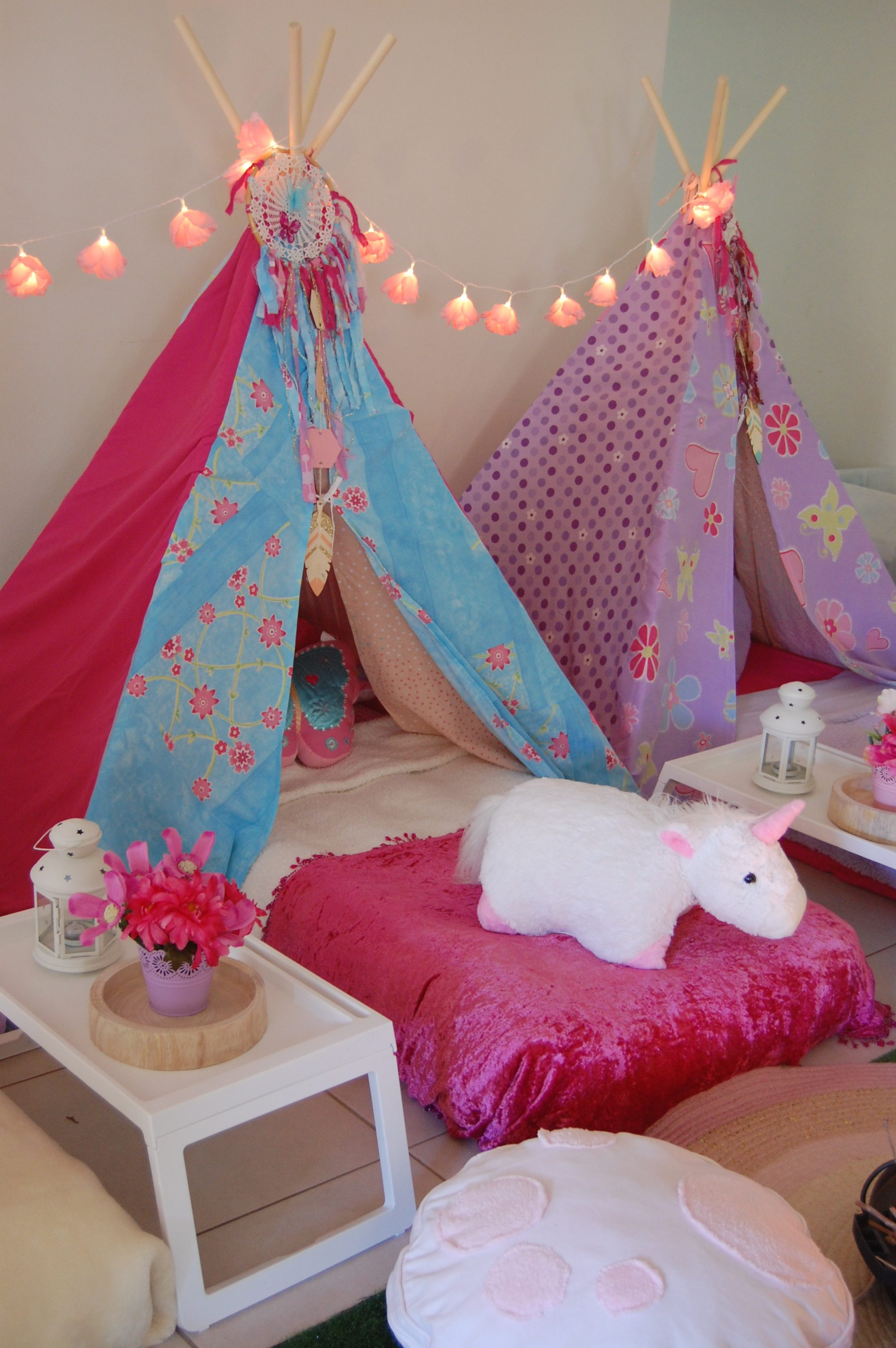 Unicorn Dreams Slumber Party Wish Upon A Party