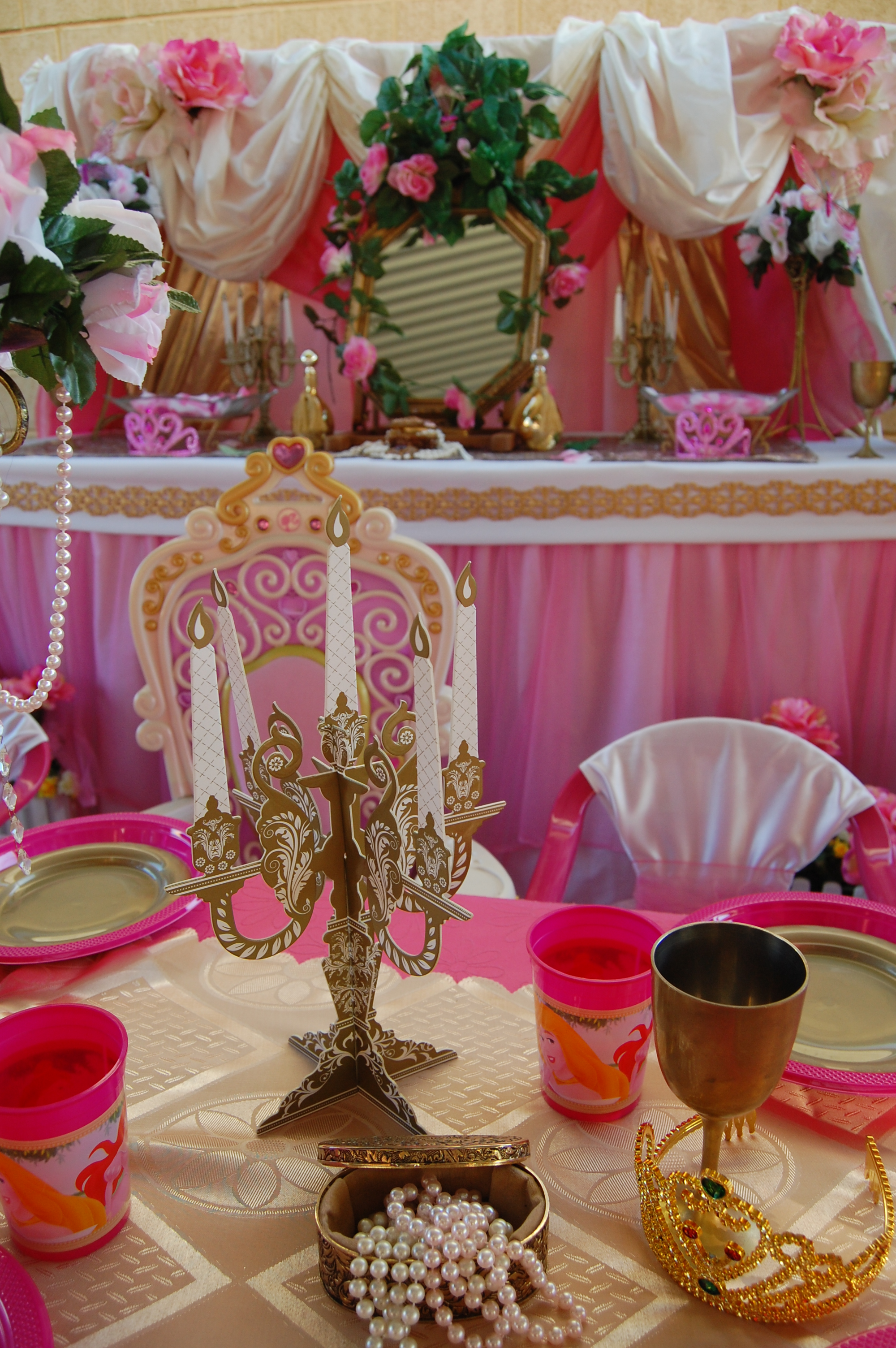 Sleeping Beauty Cake Table Wish Upon A Party