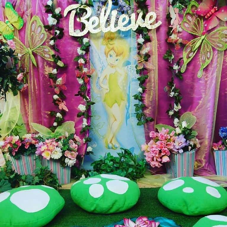 Tinkerbell Garden Setting - Wish Upon a Party