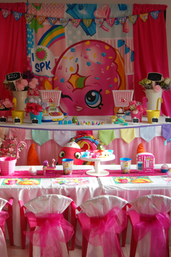 Shopkins Table Setting Wish Upon A Party