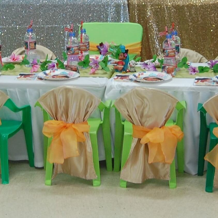 Moana Table Setting Wish Upon A Party